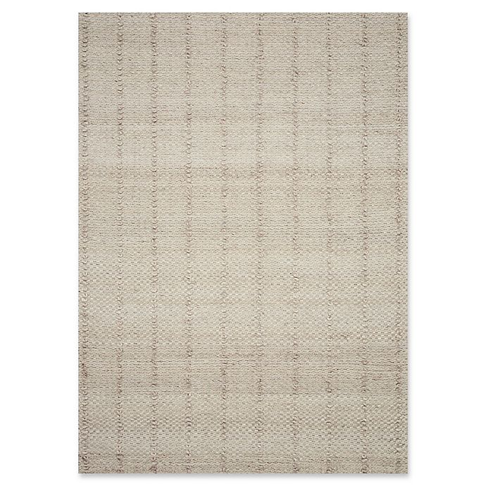 Alternate image 1 for Magnolia Home by Joanna Gaines Elliston Hand-Woven Rug in Beige
