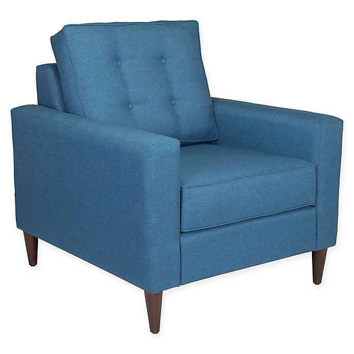 Alternate image 1 for Zuo® Morgan Armchair in Blue