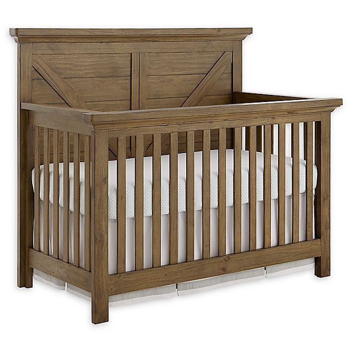Alternate image 1 for Westwood Design Westfield 4-in-1 Convertible Crib in Brown