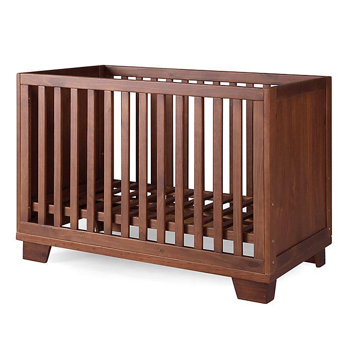 Alternate image 1 for P'kolino® Nesto 2-in-1 Convertible Crib in Mahogany
