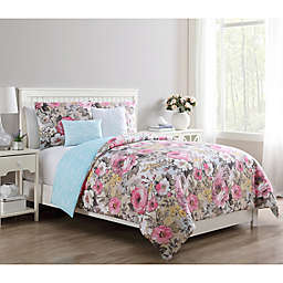 VCNY Home Lucia Reversible Duvet Cover Set