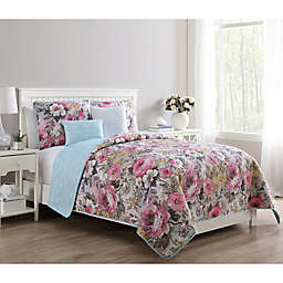 VCNY Home Lucia Reversible Quilt Set