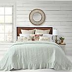 Bee & Willow™ Home Cottage Matelasse Queen Bedspread in Mint