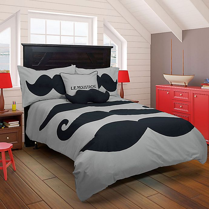 Alternate image 1 for Rizzy Home Le Moustache Comforter Set