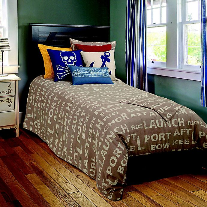 Alternate image 1 for Rizzy Home Sail Away Boating Comforter Set