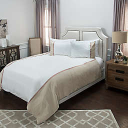 Rizzy Home Wilmington Mill Stripe Duvet Cover Set