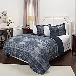 Rizzy Home Geometric Duvet Cover Set