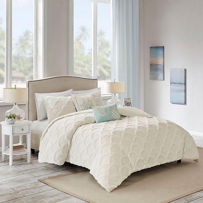 Alternate image 1 for Harbor House™ Cannon Full/Queen Duvet Cover Set in White