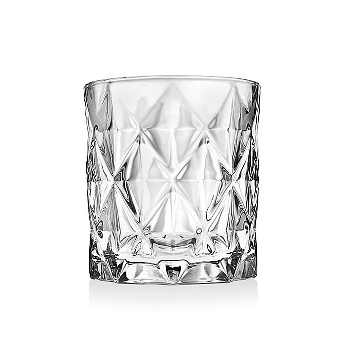 Alternate image 1 for Triangle Double Old Fashioned Glasses (Set of 6)