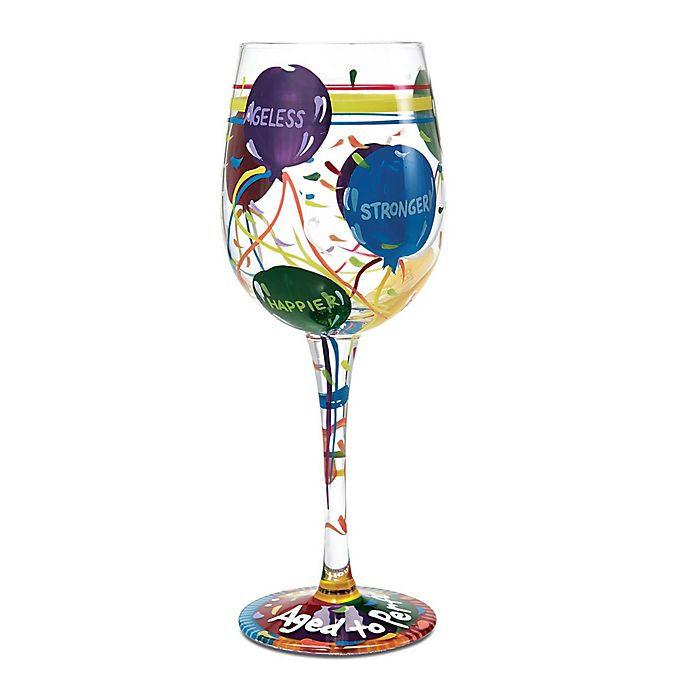 Lolita Quot Aged To Perfection Quot Stemmed Wine Glass Bed Bath
