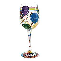 """Lolita """"Aged to Perfection"""" Stemmed Wine Glass"""