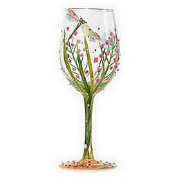 Lolita Dragonfly Stemmed Wine Glass
