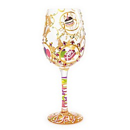Lolita Queen For a Day Stemmed Wine Glass