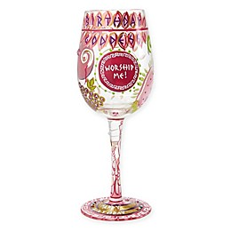 Lolita Birthday Goddess Stemmed Wine Glass