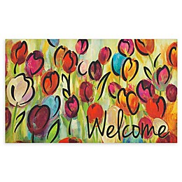 Mohawk Home® Rainbow Tulips Entry Mat