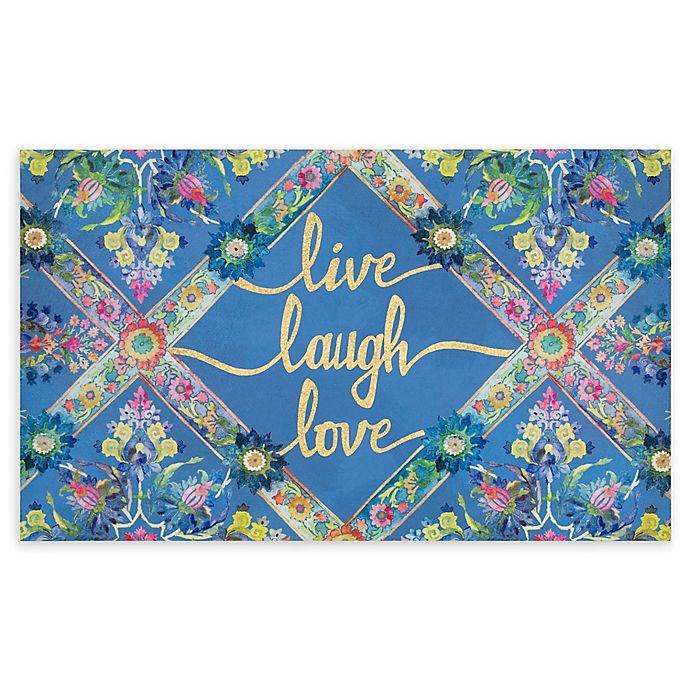 Alternate image 1 for Mohawk Home® Live Laugh Love Entry Mat