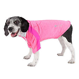 Pet Life® Chewitt Wagassy X-Large Triple-Toned Long Sleeve Performance Dog T-Shirt in Pink