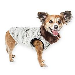 Pet Life® Luxe Purrlage Dog Coat in Grey