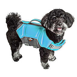 Pet Life® Dog Helios™ Tidal Guard Small Dog Life Jacket in Blue