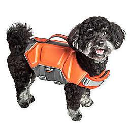 Pet Life® Dog Helios™ Tidal Guard Small Dog Life Jacket in Orange