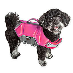 Pet Life® Dog Helios™ Tidal Guard Small Dog Life Jacket in Pink