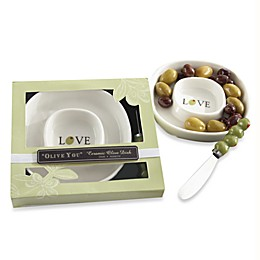 Kate Aspen® Olive You Olive Tray and Spreader