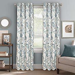 Bastille Floral Grommet 100% Blackout Window Curtain Panel