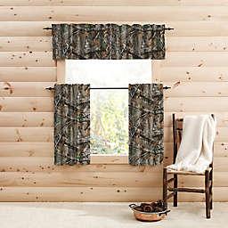 Realtree EDGE™ Camo Window Curtain Tier Pair and Valance