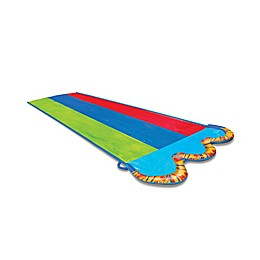 Banzai 16-Foot Kids Triple Racer Water Slide