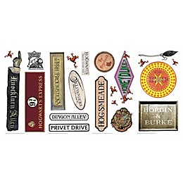 Harry Potter™ Signs Peel & Stick Decals