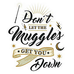 Harry Potter™ Muggles Quote Peel & Stick Wall Decal