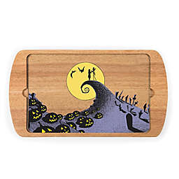 Picnic Time® Billboard Nightmare Before Christmas Jack & Sally Serving Tray in Brown