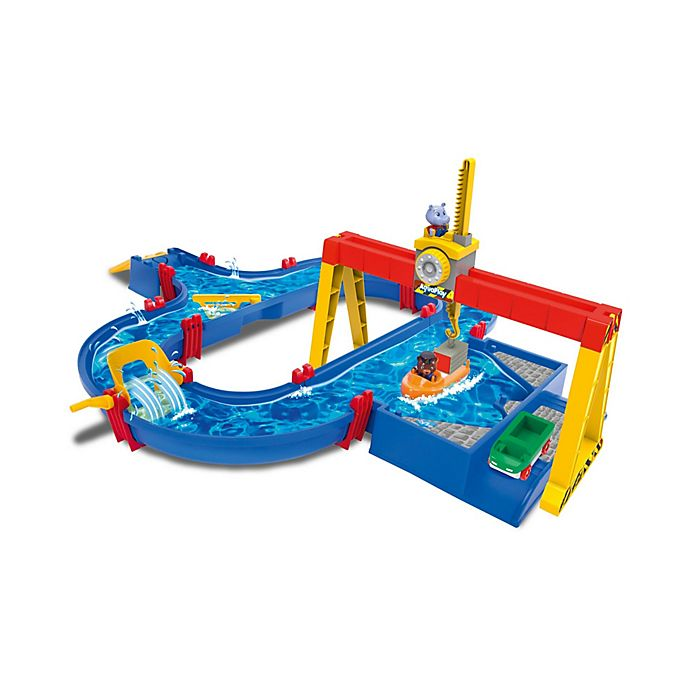 Alternate image 1 for AquaPlay Container Port Water Table