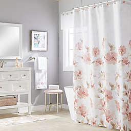 Misty Floral Shower Curtain Collection