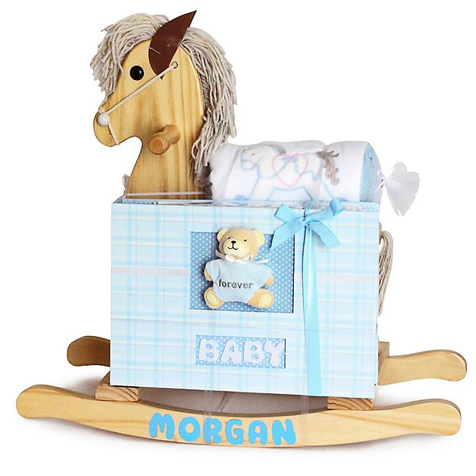 Alternate image 1 for Silly Phillie® Creations 3-Piece Rocking Horse Gift Set