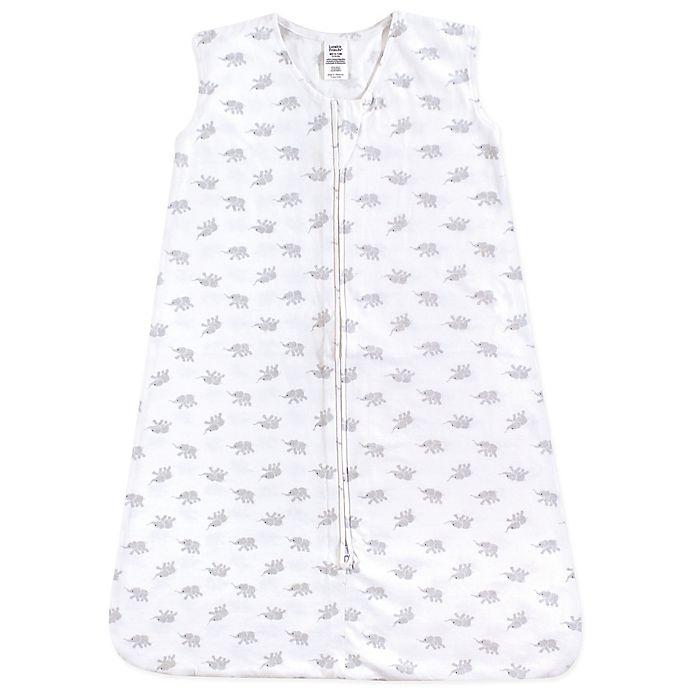 Luvable Friends® Elephants Wearable Sleeping Bag in White