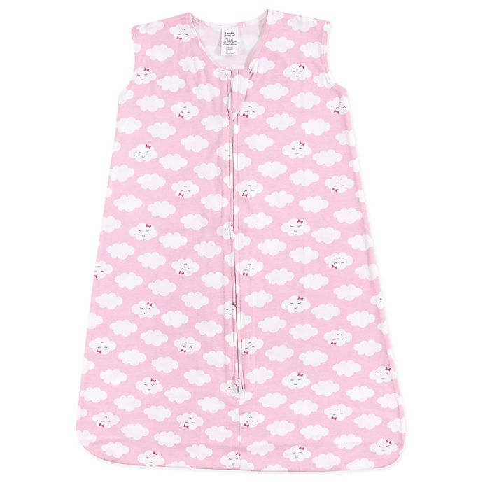Alternate image 1 for Luvable Friends® Clouds Sleeping Bag in Pink