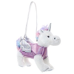 Capelli New York Persephone the Pegasus Plush Animal Bag