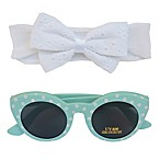 So 'Dorable™ 2-Piece Eyelet Headwrap and Sunglasses Set
