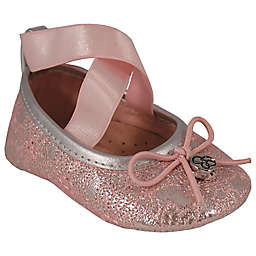 Jessica Simpson Oona Pink Lace Ballet Shoe