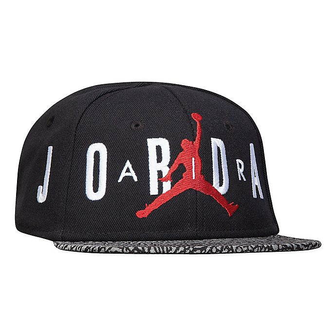 Alternate image 1 for Nike® Jordan® Infant Air Ele Snapback Hat in Black