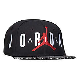 Nike® Jordan® Air Ele Snapback Hat in Black