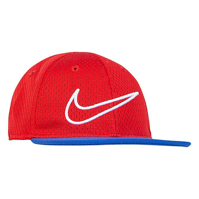 Alternate image 1 for Nike® Mesh Snapback Hat in Red