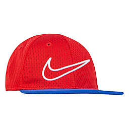 Nike® Mesh Snapback Hat in Red