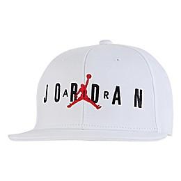 Nike® Jordan® Air Jumpman Snapback Hat in White