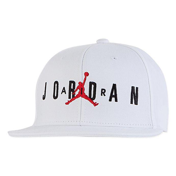 05bf2529014 Nike® Jordan® Air Jumpman Snapback Hat in White
