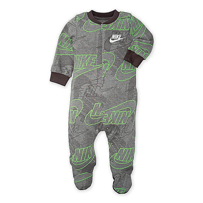 431e429f2 Nike® Futura® Footed Coverall in Grey | buybuy BABY