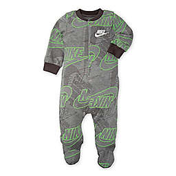 Nike® Futura® Footed Coverall in Grey