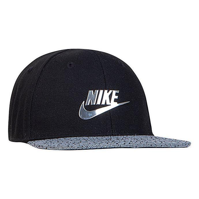 Alternate image 1 for Nike® Infant Metal Futura Cap in Black