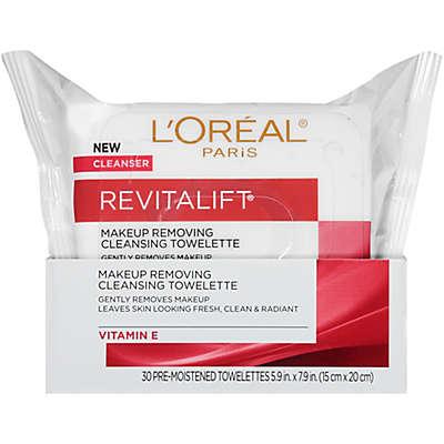 L'Oréal® Paris Revitalift 30 Count Radiant Smoothing Facial Cleansing Towelettes